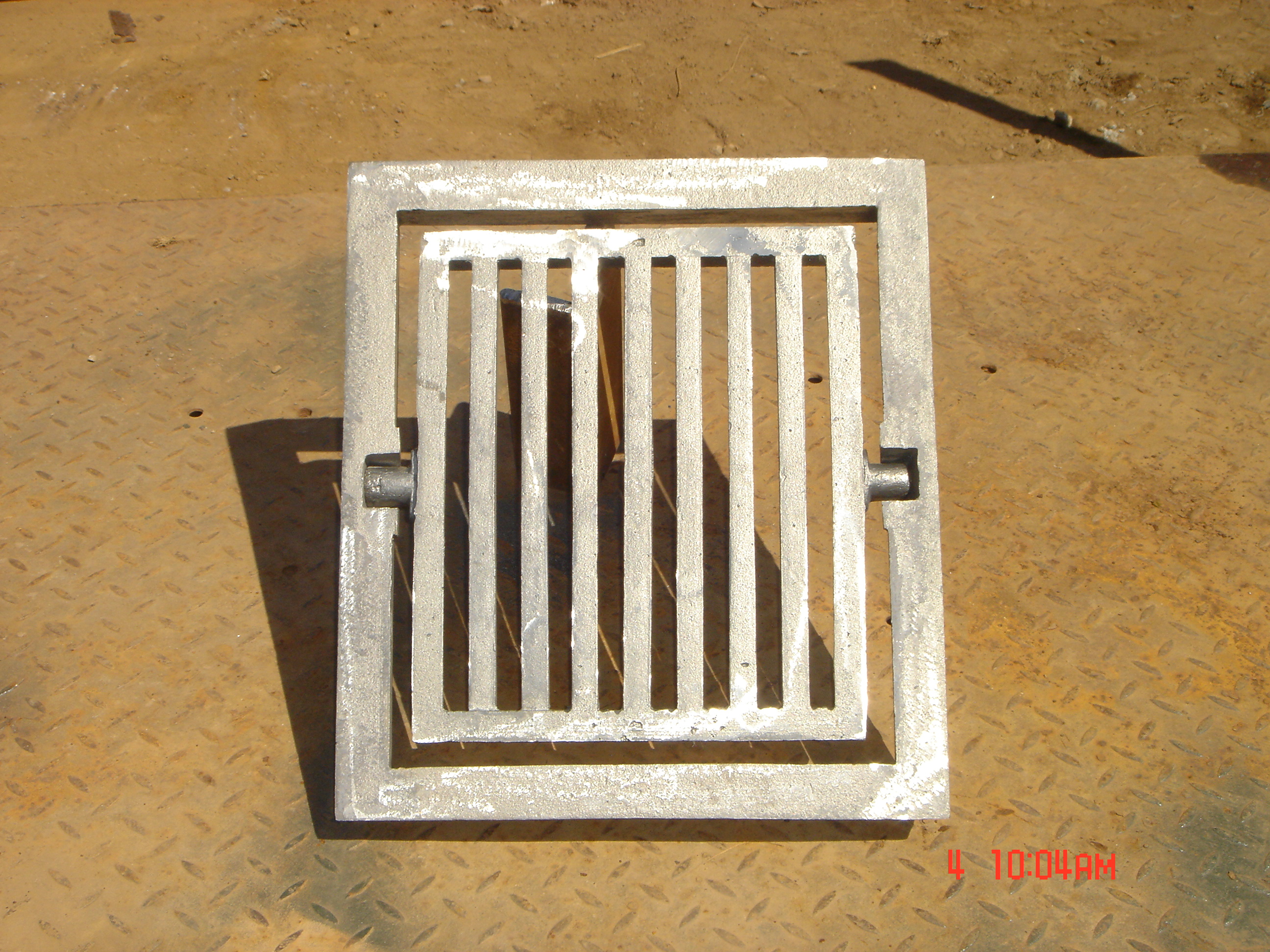 14 x 17 baker grate and frame
